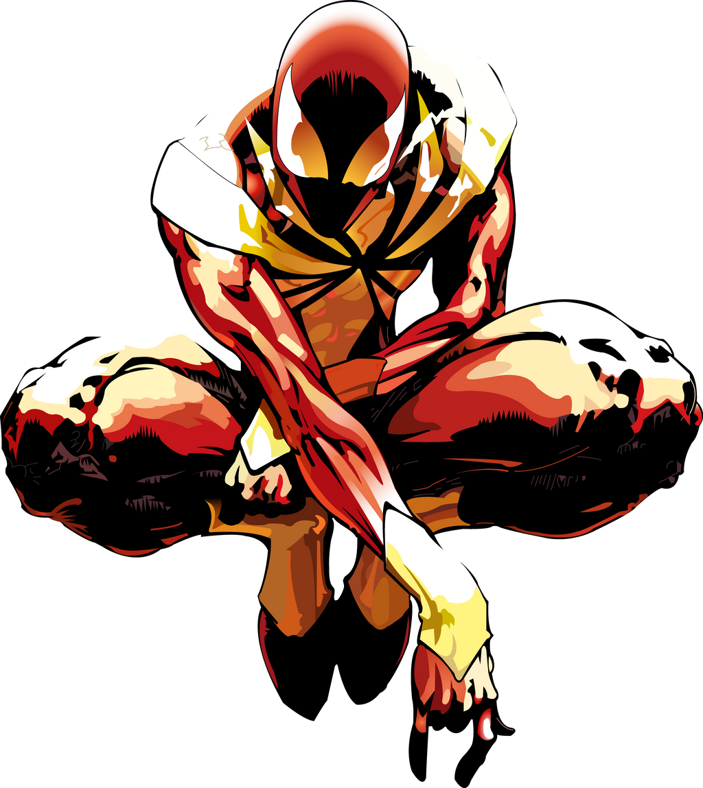 Iron-Spider PNG by TheSuperiorXaviruiz on DeviantArt