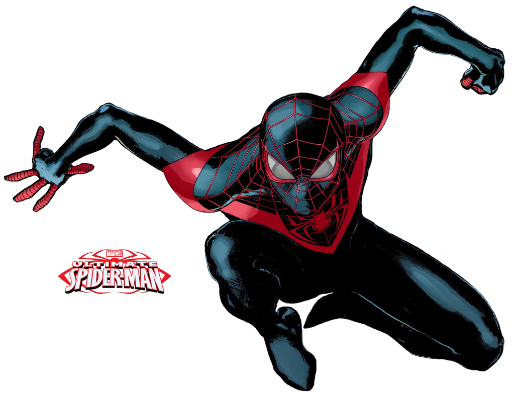 miles morales ultimate spider man png by thesuperiorxaviruiz on deviantart. Black Bedroom Furniture Sets. Home Design Ideas