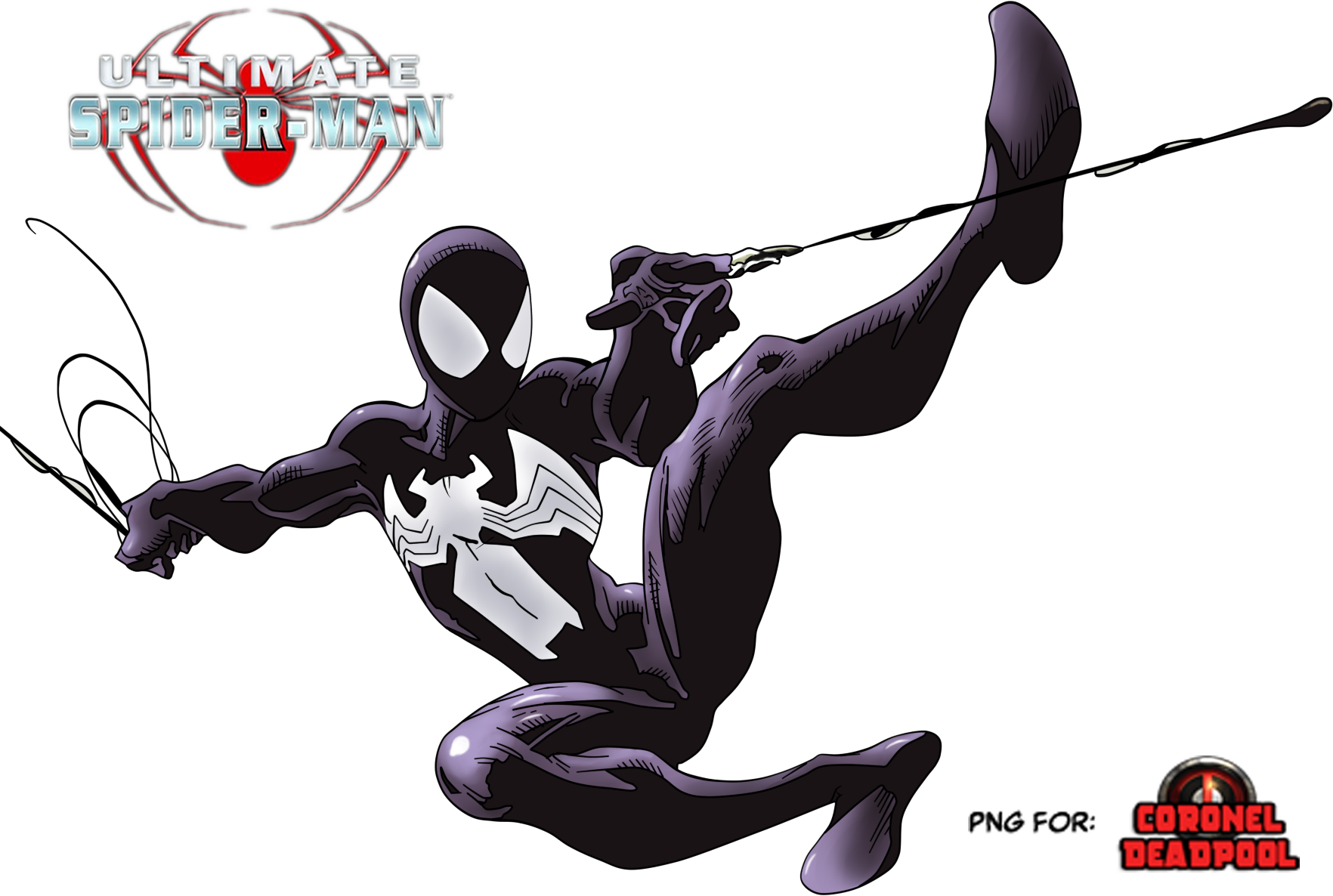 Ultimate black Suit - Ultimate Spider-Man! by ...