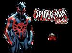 Spiderman 2099 by TheSuperiorXaviruiz