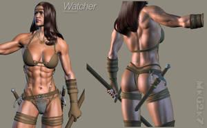 Watcher -Work in Progress 02- by MkGrr