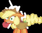 Applejack hit her head