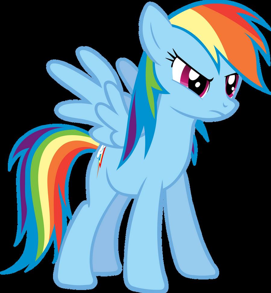 Rainbow Dash discussing Trixie by FabulousPony