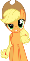 A very tired Applejack