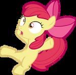 Applebloom falling over