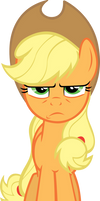 Applejack listening to advice