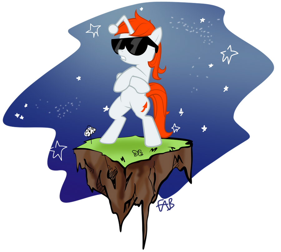 Sure_Ill_Draw_That Space Karma - reddit404d.png by FabulousPony
