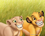 .Simba and Nala.