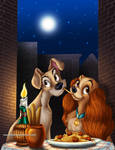 .Lady and the Tramp.
