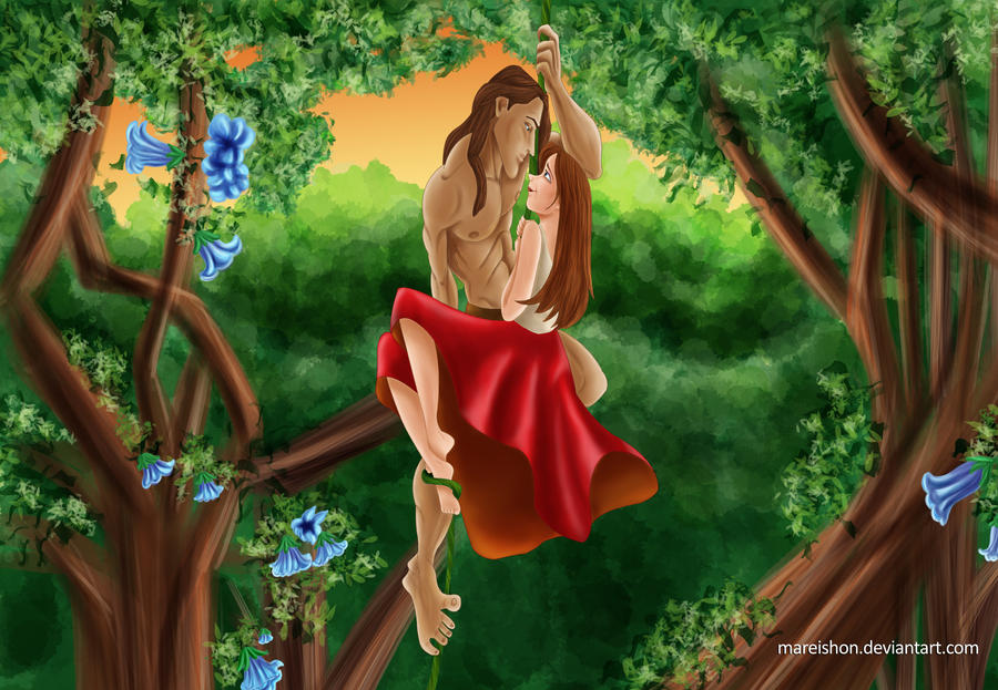 Tarzan Movies Jane Tarzan And Jane by Mareishon