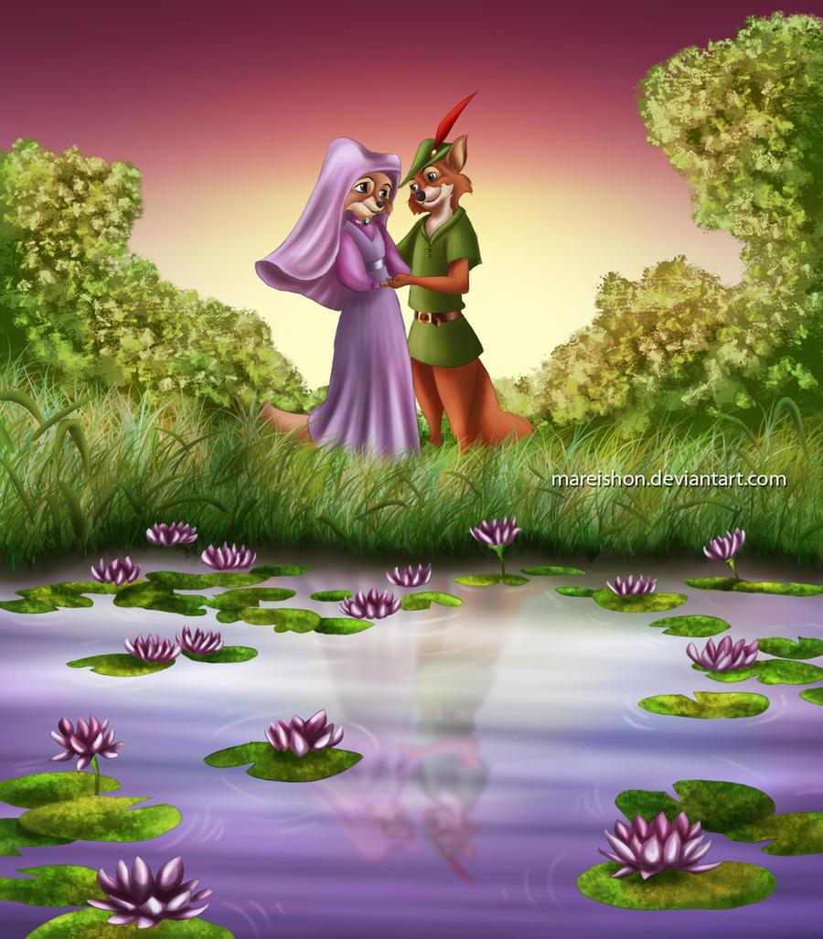 Robin Hood and Maid Marian by Mareishon