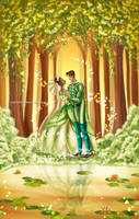 .Tiana and Naveen. by Mareishon