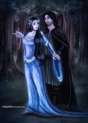 .Beren and Luthien. by Mareishon