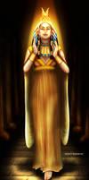 Queen Cleopatra by Mareishon