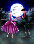 Ichabod Crane and Katrina Van Tessel by Mareishon