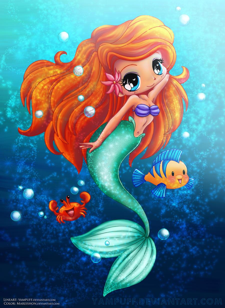 The Little Mermaid by Mareishon on DeviantArt