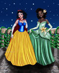 Snow White And Tiana Designer Collection