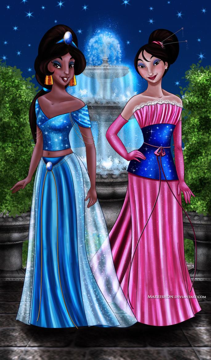 Jasmine and Mulan Designer Collection by Mareishon