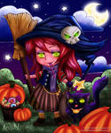 Halloween Colouring Contest