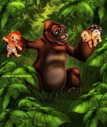 Tarzan's Family by Mareishon