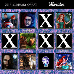 Summary Of Art 2016 by Mareishon