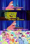 The Ponies Reactions to the Frozen Krabby Patties