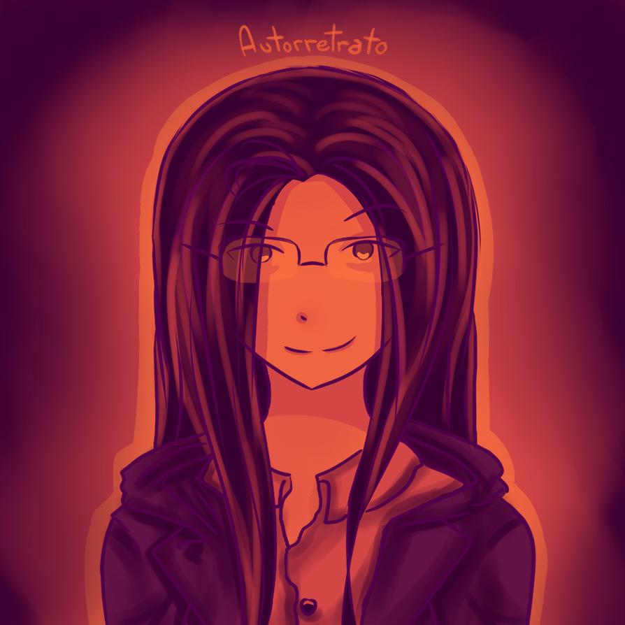Dia 1 Autoretrato by Atsu-Mist