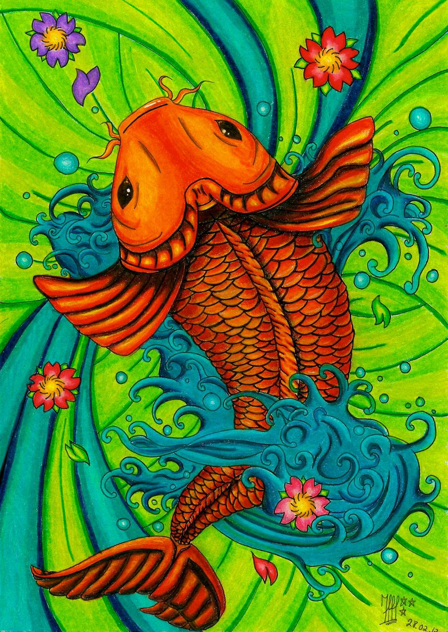 Koi fish by inghan on DeviantArt