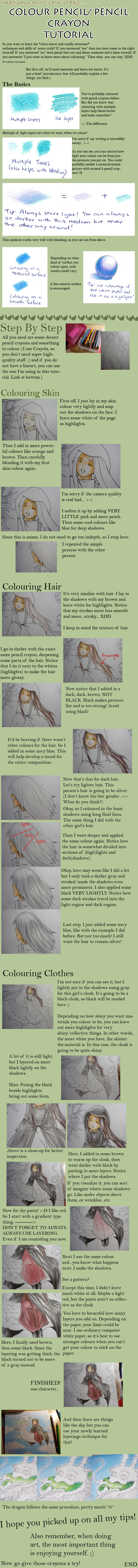 Colour Pencil Tutorial by imaginary-ang3l