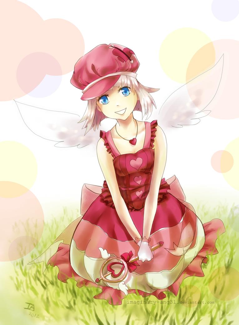 Secret Santa: Aya by imaginary-ang3l
