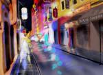 City lights-Speed paint