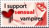 Sensual Vampires Stamp by MsMeli