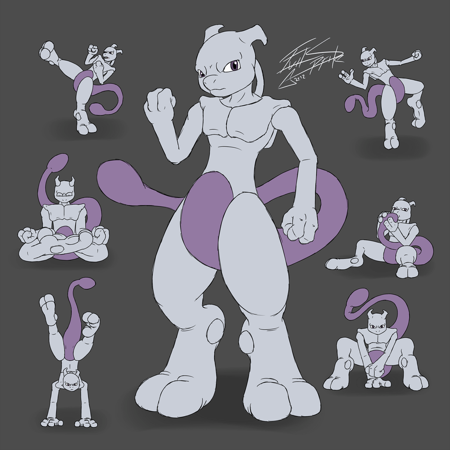 Image Gallery evil mewtwo