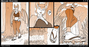 Wannabe Giantess [1/4] by Evil-Sprite