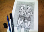 Attack on Titan - Armin and Annie