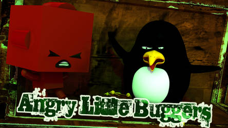 Angry Little Buggers by Locke-Lyesmith