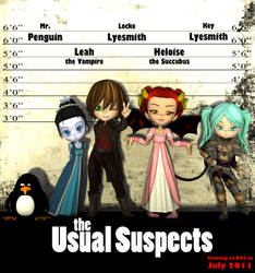 the Usual Suspects by Locke-Lyesmith