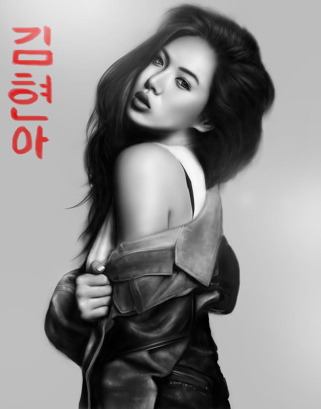 Kim Hyuna by aortaFX