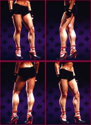 Saints Row 3 - muscular woman 2-3 by J2001