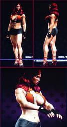 Saints Row 3 - muscular woman 3-3 by J2001