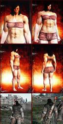 Dragon's Dogma - muscular woman by J2001