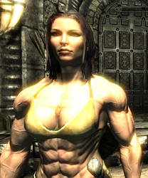 Skyrim - Enhanced woman by J2001