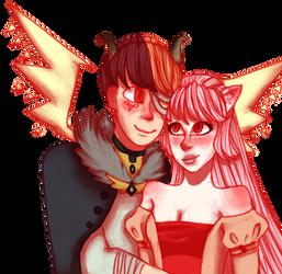 [CM] Harumi and Artemis : loosie555 by Kneverk