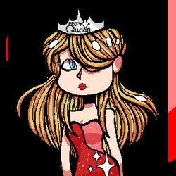 Prom Queen (Pixel Chibi) by Kneverk
