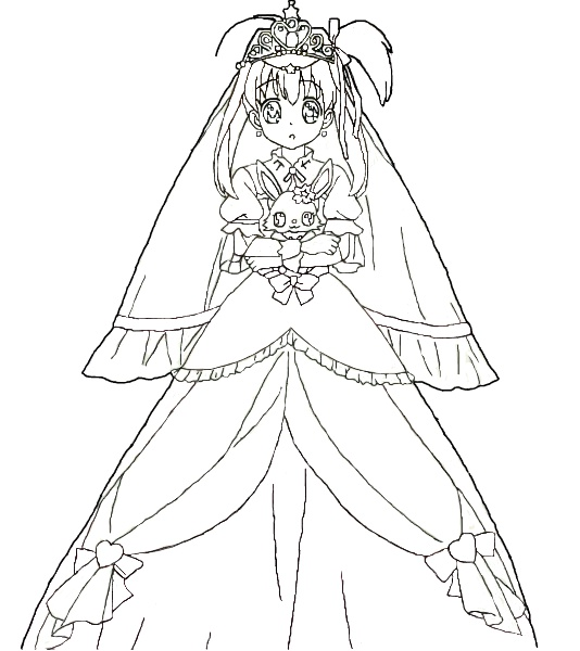Line Drawing Jewel : Akari sakura line art jewelpet tinkle by akarisakura