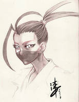 Ibuki Sketch SF by arcais