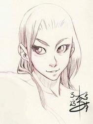 Cute Sketch 03-23-2017 by arcais