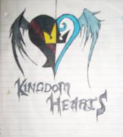 Kingdom Hearts drawing by Roxasheart654
