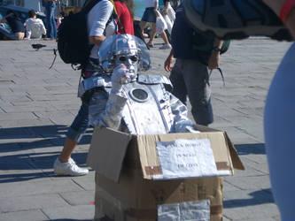 Even Robots Need Love by tenkuudragon