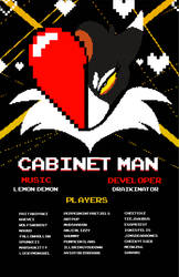 Cabinet Man MAP Poster by CelestialTabris